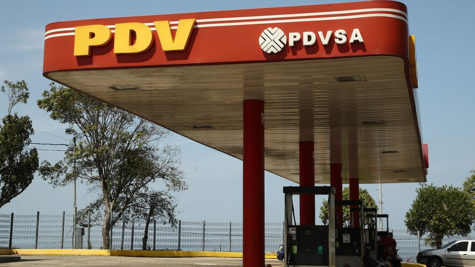 Estación de PDVSA