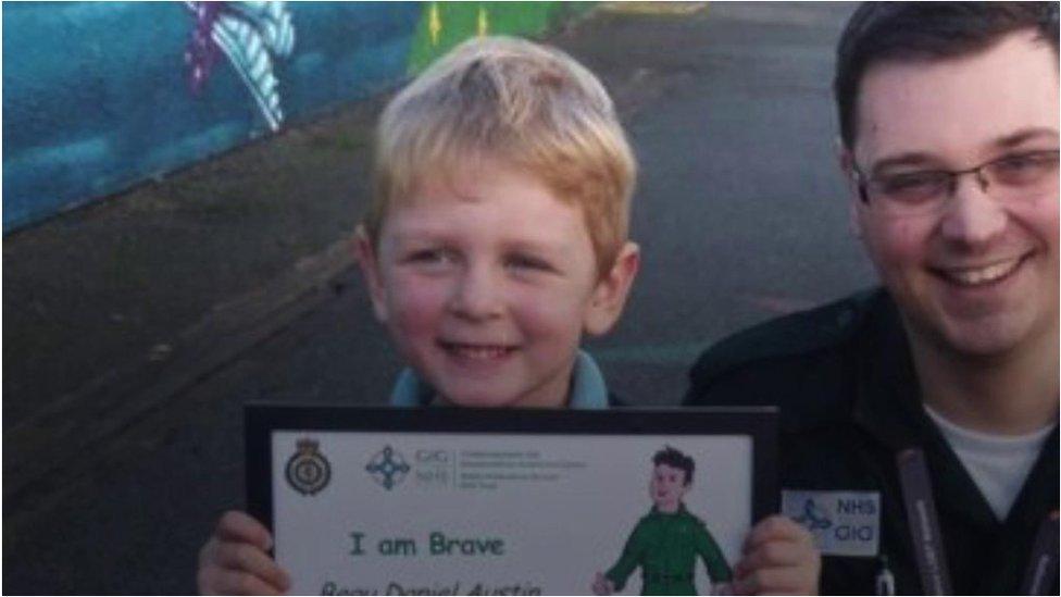 'My mummy's sick': Boy, 4, calls ambulance for mum using Siri