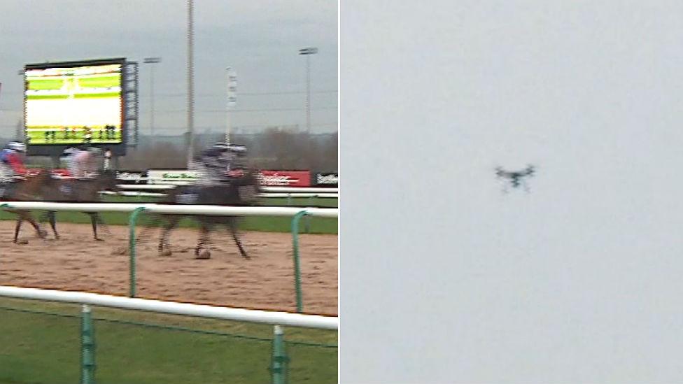 'Betting' drones frustrating UK racecourses