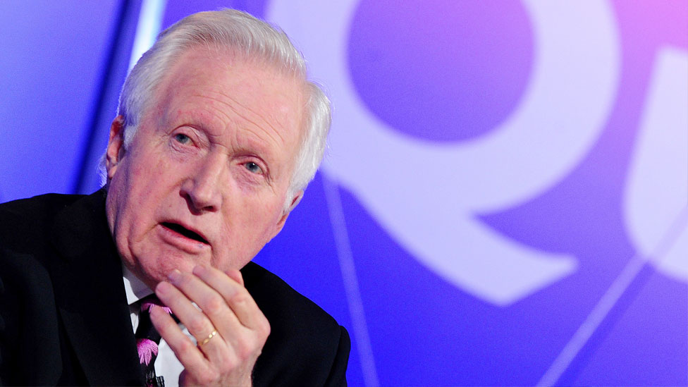 Question Time: David Dimbleby to step down after 25 years