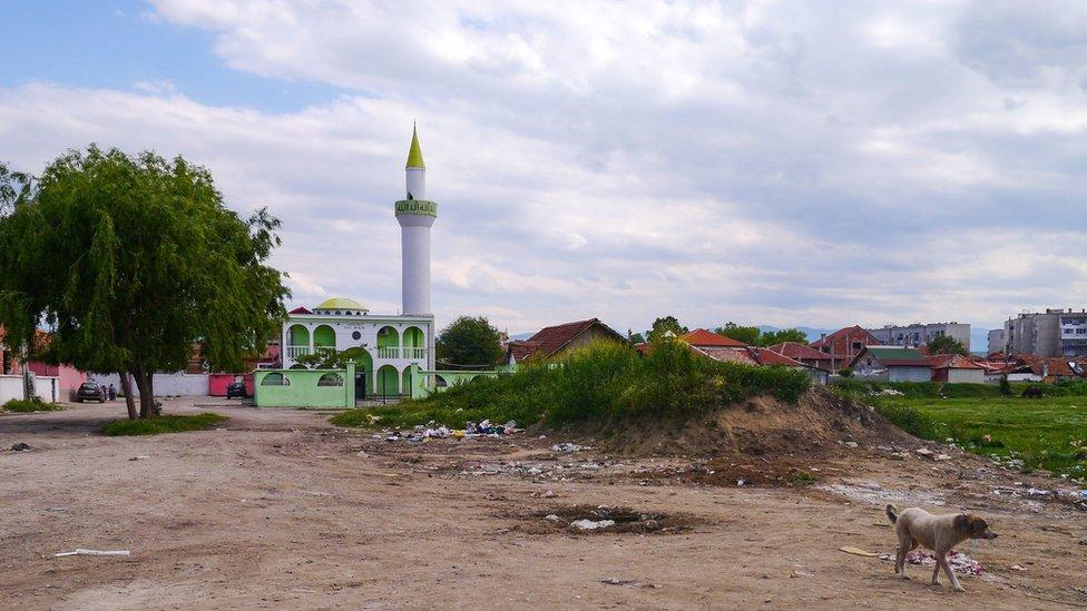 Abu Bakir mosque in Pazardjik