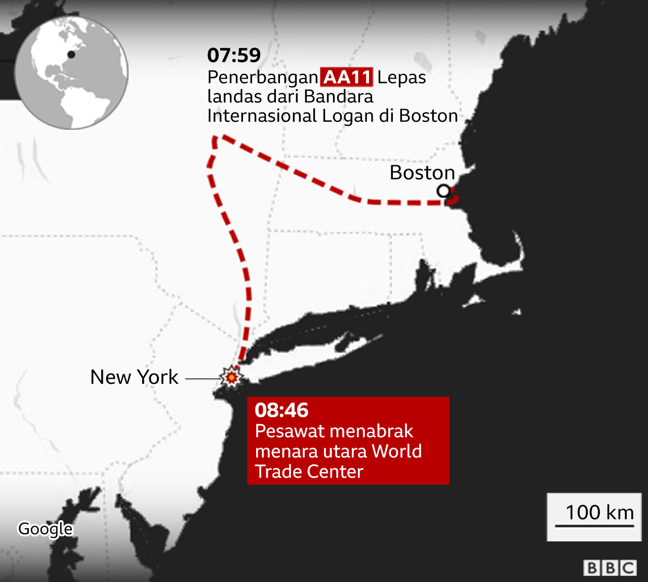 rute pesawat 1