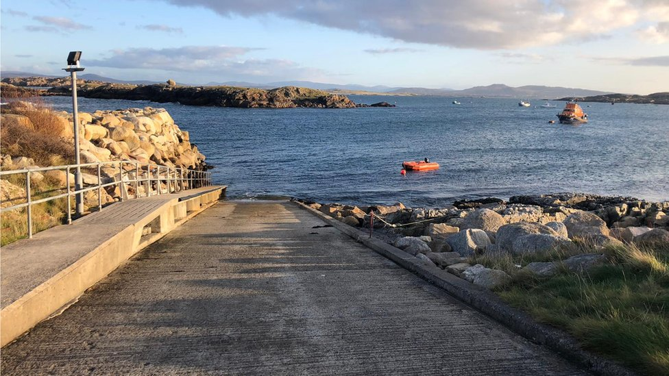 Arranmore Leigh Early Dies After Car Slips Off Pier Bbc News