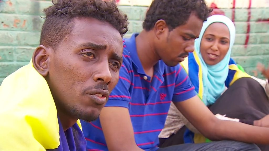 Sudan activist: 'We were lashed constantly with whips'