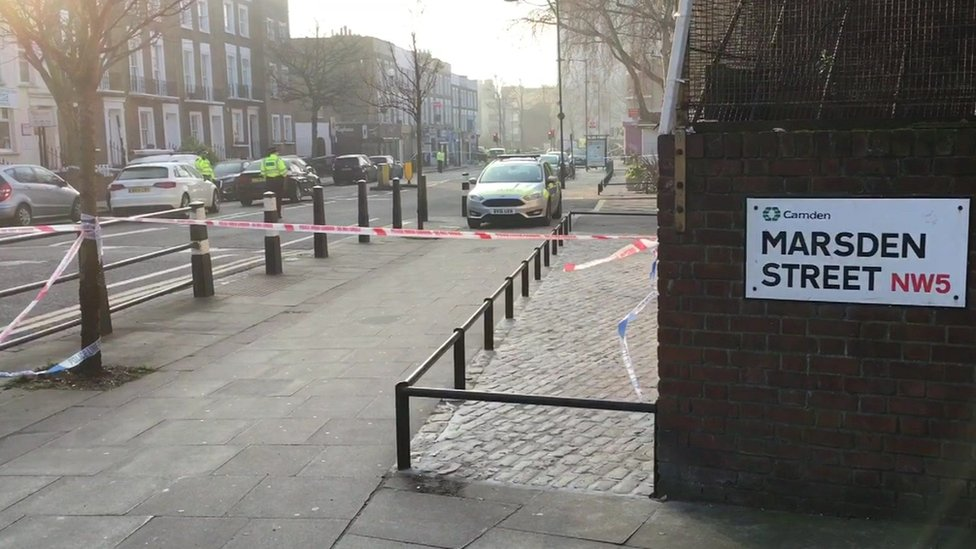 Marsden Street crime scene