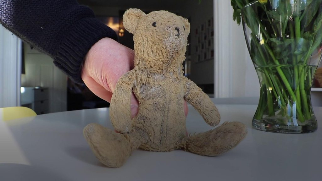 Couple hopes to find lost teddy's owner after 26 years