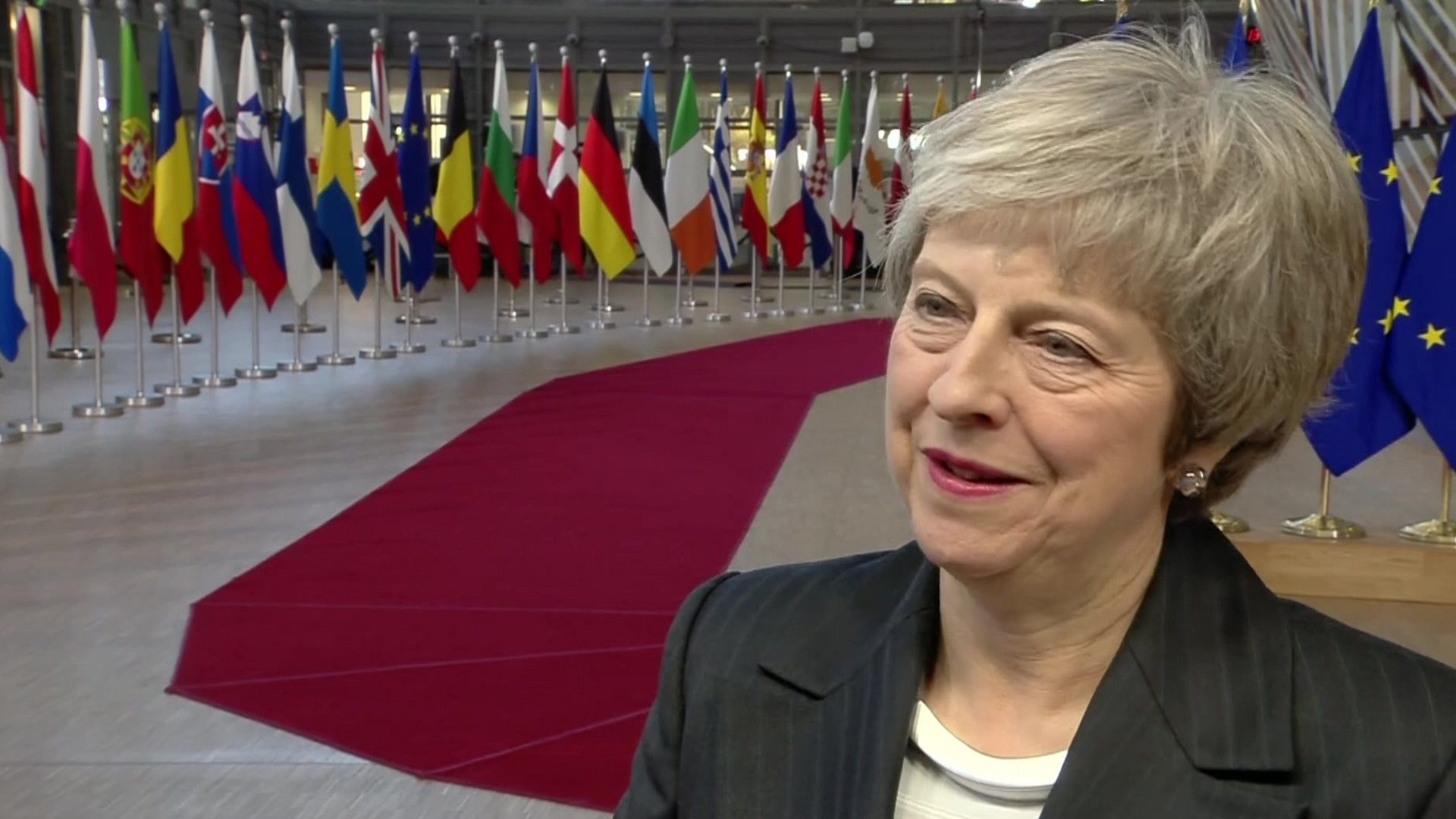 Brexit: Theresa May arrives at EU summit after surviving vote