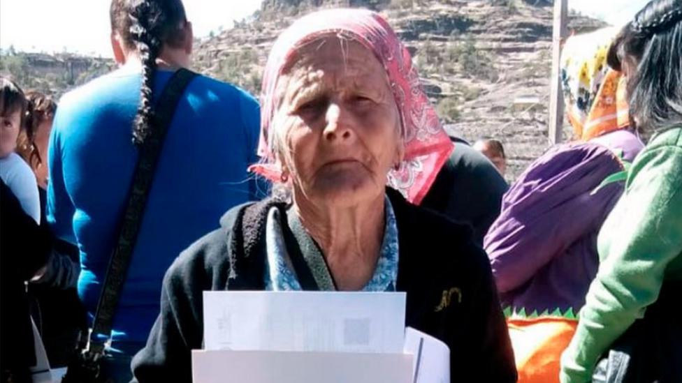 Ernestina Dijaz pohađala je školu za odrasle u Meksiku