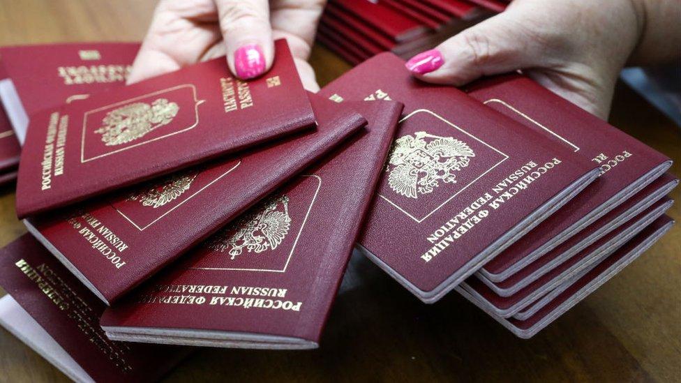 Радбез ООН: західні країни назвали видачу російських паспортів для