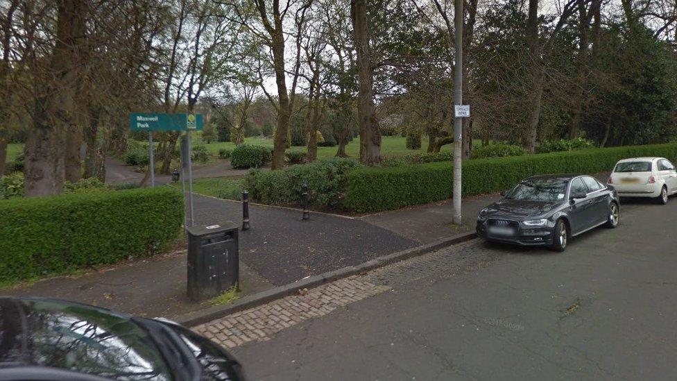 Man arrested after Maxwell Park 'indecency'