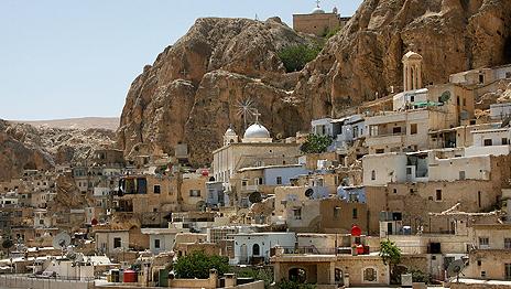 Christian Syrian village of Maalula