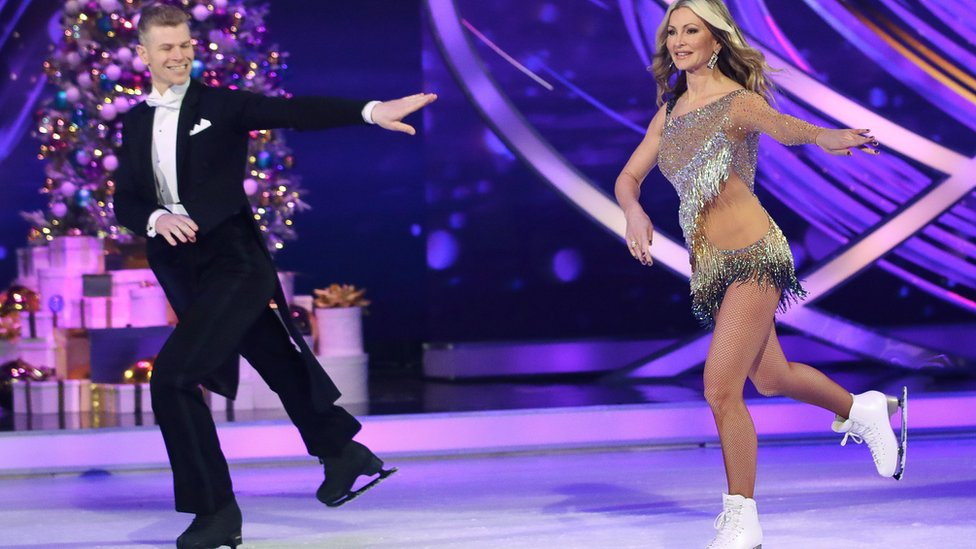 Dancing On Ice Caprice Quits After Hard Few Months Bbc News