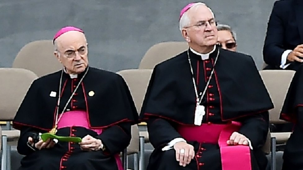 Ambassador to the Vatican Carlo Maria Vigano pictured in Philadelphia in September, 2015.
