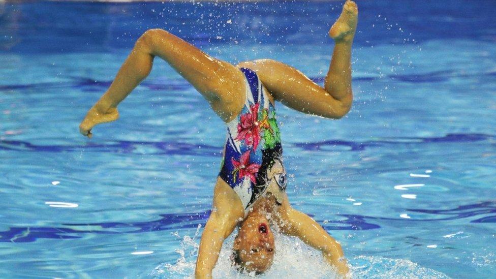 La nadadora israelí Shelly Bobritsky durante la clasificaciones olímpicas el pasado junio en Barcelona, España.