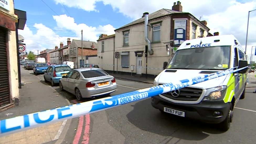 Man arrested over Walsall barber shop shooting