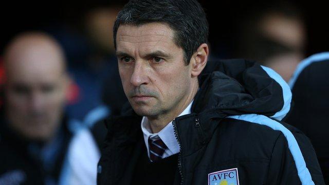 Remi Garde - Aston Villa manager