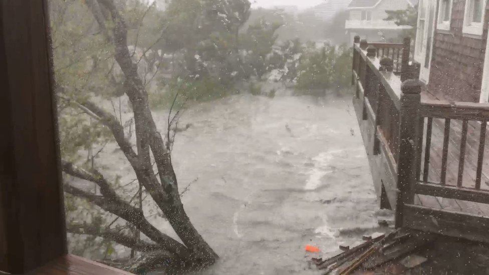 Ocracoke flooding