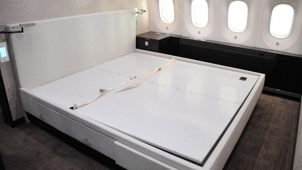 Habitación del avión