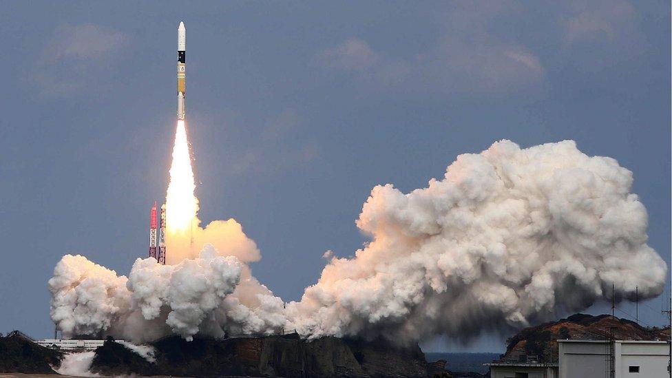 Hayabusa-2 uzay aracı
