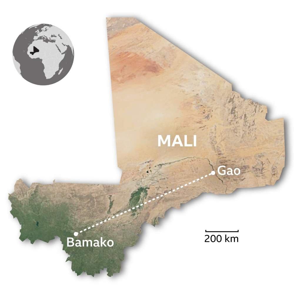 Mali harita