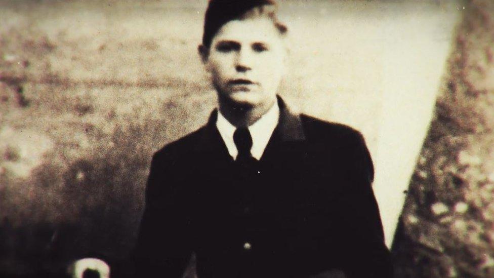 Chrzanowski joven