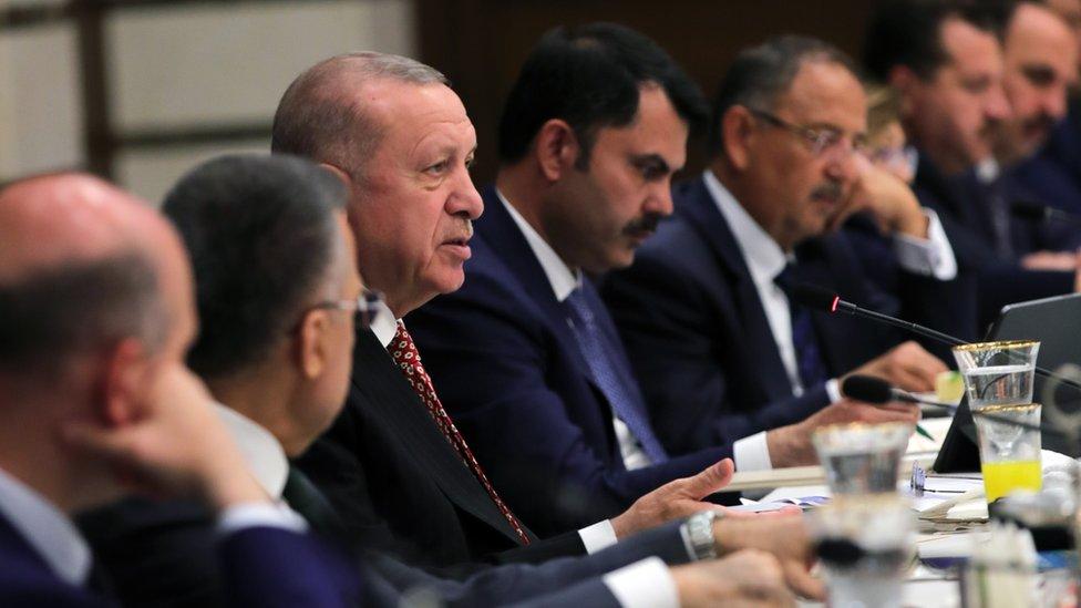 Erdoğan ve Kabine