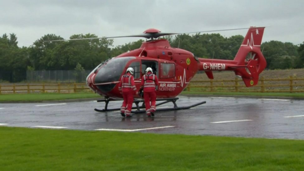 Air Ambulance Northern Ireland marks first year of service