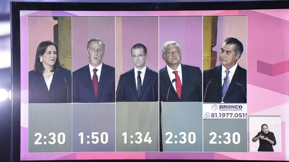 El debate presidencial ha sido uno de los más vistos en México.
