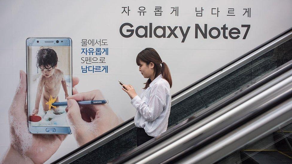 Samsung Note 7 ad