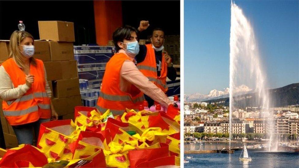 日內瓦生活水平高,但也有居民依賴食物救濟維生