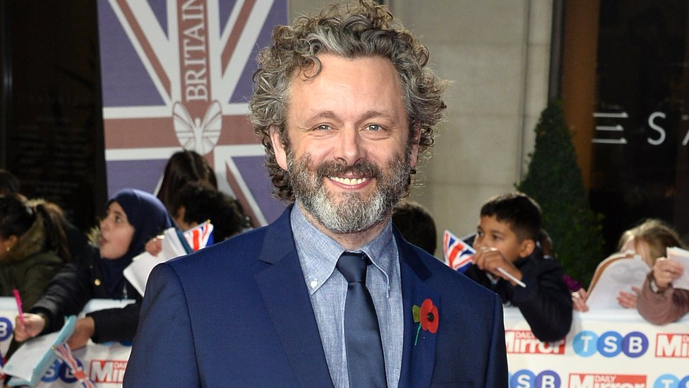Michael Sheen pictured at the Pride of Britain Awards last month