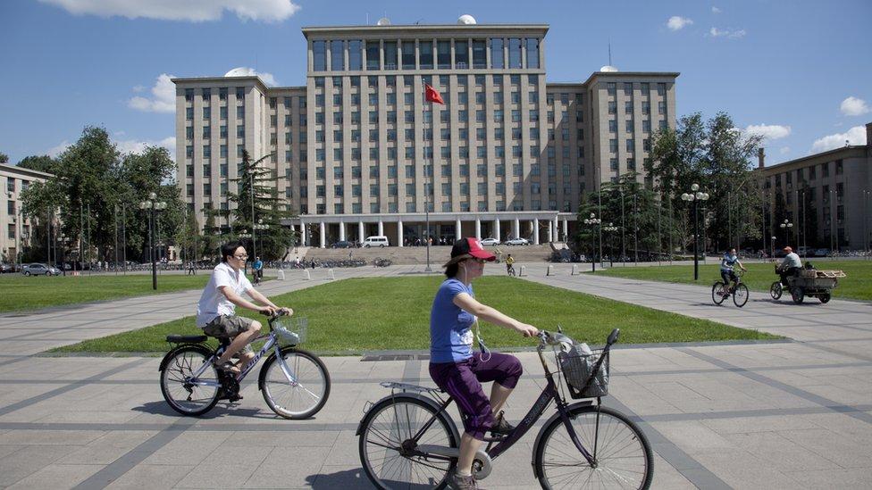 Tsinghua University di Beijing