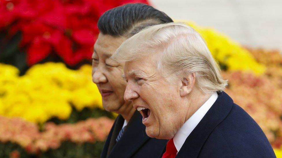 Kineski predsednik Ksi Điping i američki predsednik Donald Tramp , Novembar 2017, ian