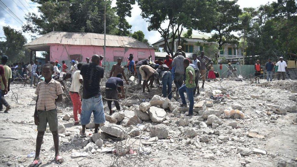 Потужний землетрус на Гаїті: є загиблі