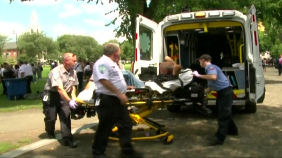Arrest after dozens overdose in Connecticut park