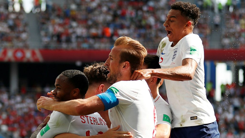 World Cup 2018: John Stones bags his second of the game to put England 4-0 up
