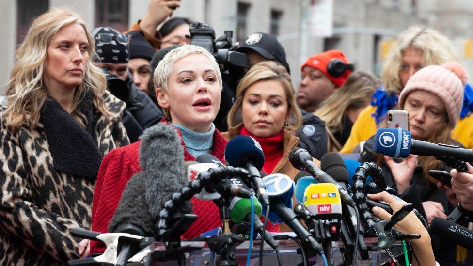 Glumica Rouz Mekgouan takođe je iznela optužbe na račun Vajnstina