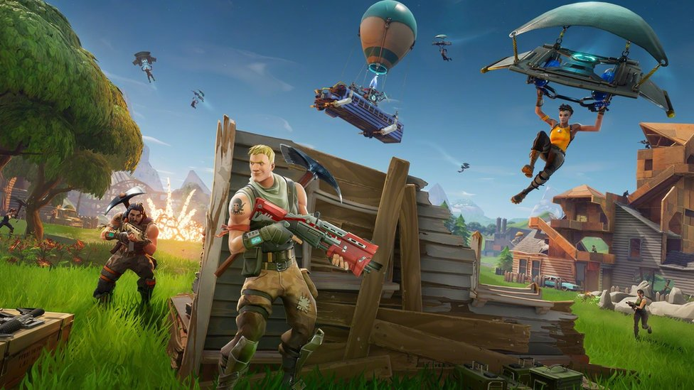 Fortnite Sued For Copying Rival Game Pubg Bbc News