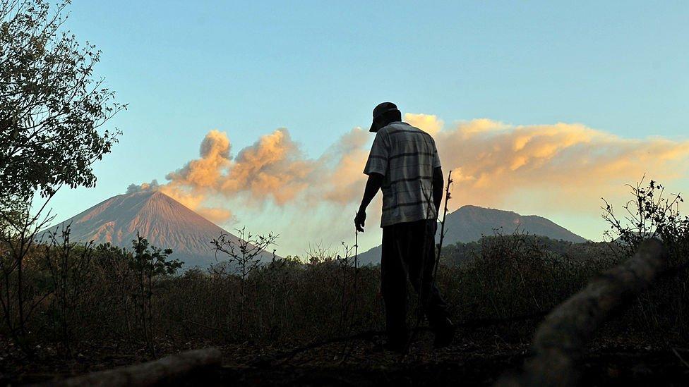 Volcán San Cristóbal, Nicaragua