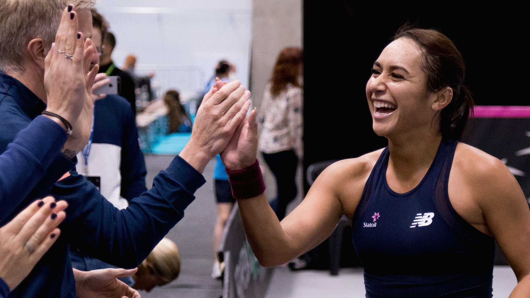 Great Britain to face Hungary, Greece and Slovenia in Fed Cup