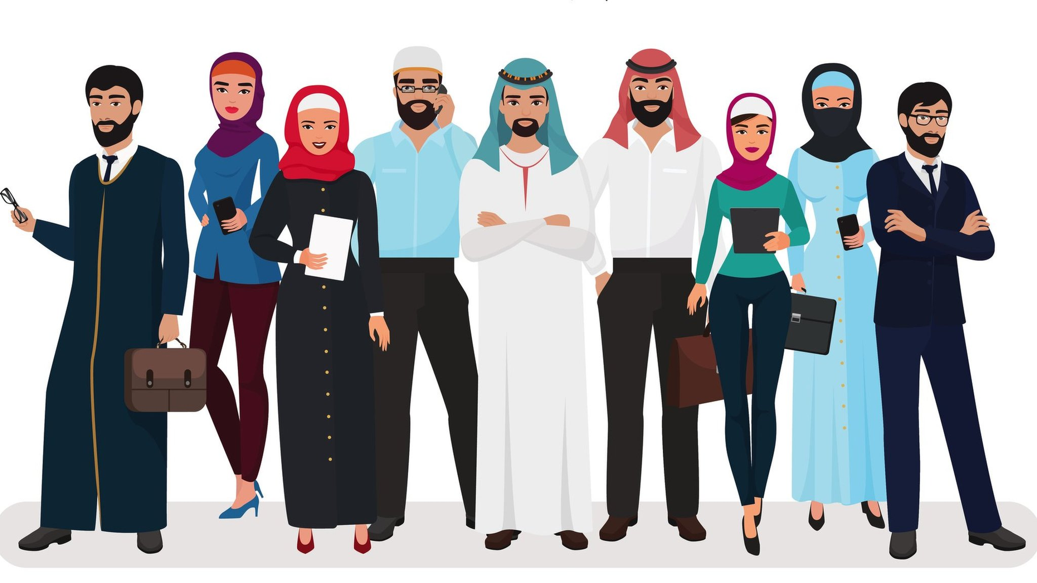 سعوديون وسعوديات