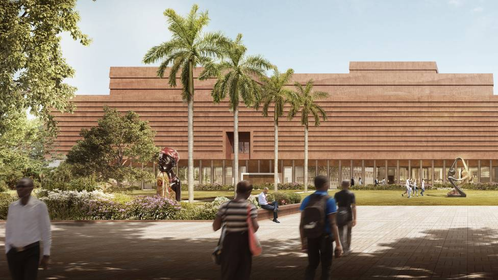 An artist's impression of the planned museum in Benin City