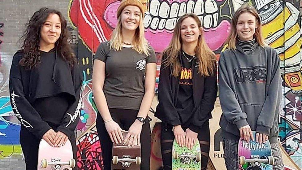 Why skateboarding's 'not just for guys'
