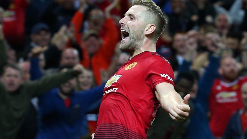Man Utd 2-1 Leicester: Luke Shaw's performance 'very complete' - Jose Mourinho