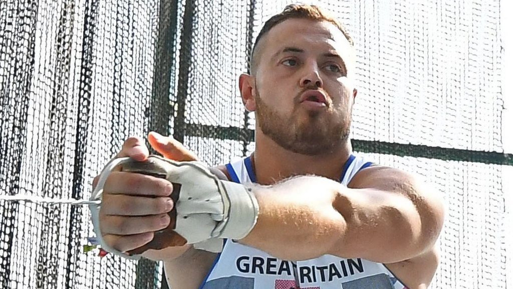 Mark Dry: Scottish hammer thrower provisionally suspended on doping charge