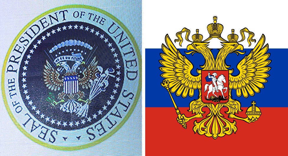 The doctored seal and the Russian coat of arms