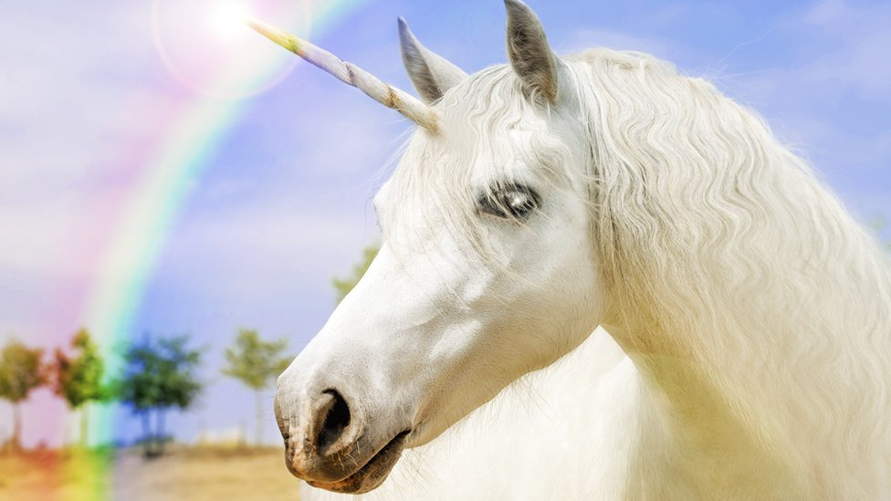 Unicornio blanco