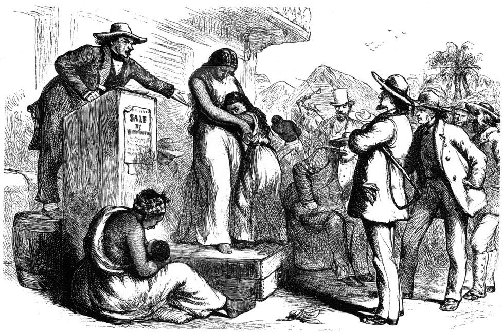 Un remate de esclavos