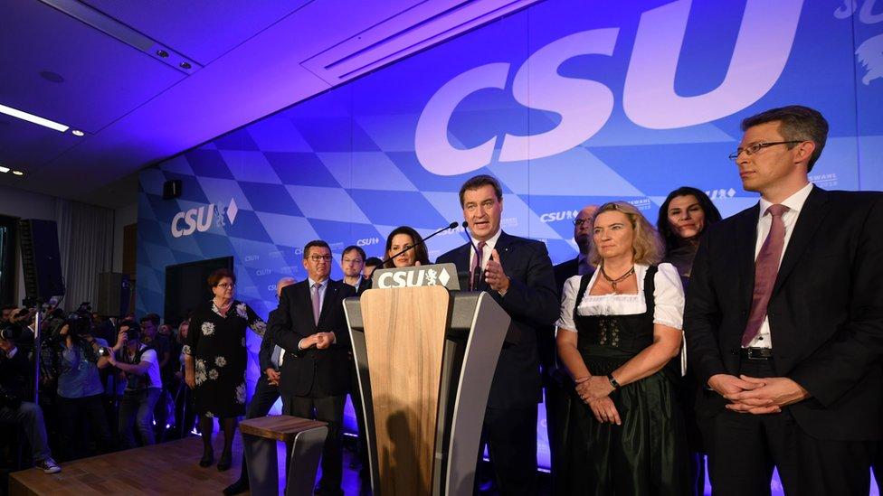 Hrišćansko-socijalna unija pretrpela je gubitke na izborima u Bavarskoj