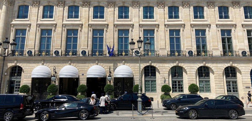 Ritz Hotel, Paris